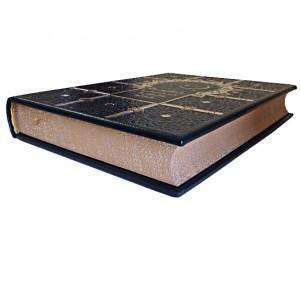 """Книга в кожаном переплете """"Тысяча и одна ночь: полное собрание сказок"""""""