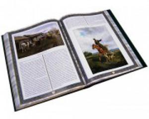 Разворот подарочной книги Русская охота