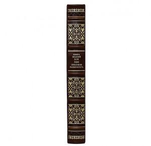 Корешок подарочной книги Книга знаний или 300 способов разбогатеть