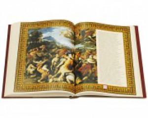 """Разворот книги с иллюстрациями """"Метаморфозы"""". Фото 2"""