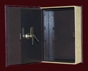 """Книга-сейф для документов """"Узор"""