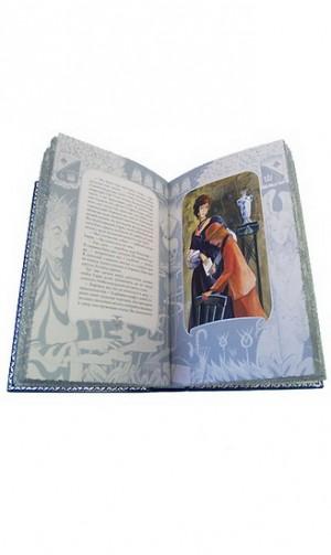 """Иллюстрации к кожаной книге """"Приключения принца Флоризеля"""""""