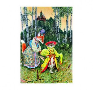 Книга сказка для детей Конек-горбунок