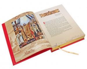 """Иллюстрации из подарочной книги """"Русские святые"""""""