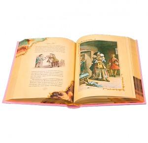"""Разворот с иллюстрацией к подарочной книге """"Манон Леско"""""""