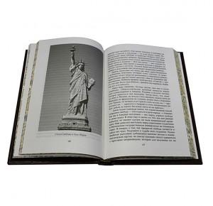 Разворот подарочной книги Англосаксонская мировая империя