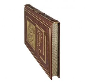 """Обрез кожаной книги """"Библия в гравюрах Гюстава Доре"""""""