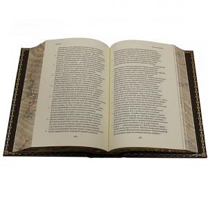 """""""Библиотека зарубежной классики"""" в 100 томах - разворот книги"""