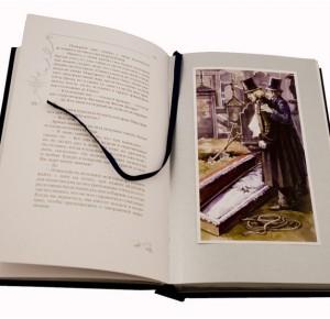 Дама с камелиями - иллюстрации Ю. Евстратовой