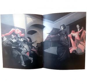 Иллюстрация к подарочному изданию Доктор Живаго - 1
