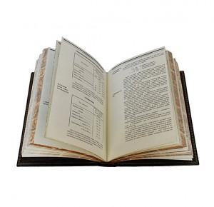 Разворот подарочной книги Электрификация СССР