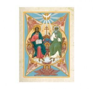 """Иллюстрация к подарочной книге """"Евангелие в красках Палеха"""""""