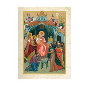 """Подарочное издание """"Евангелие в красках Палеха"""" - иллюстрация"""
