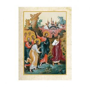 """Книга в подарок """"Евангелие в красках Палеха"""" - иллюстрация"""