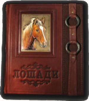 """""""Лошади. Новая энциклопедия"""" подарочная книга"""