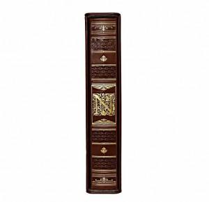 Корешок кожаной книги История Наполеона
