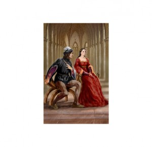 """Иллюстрация из книги для подарка """"Прекрасная Маргарет. Клеопатра"""""""