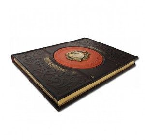 "Книга в кожаном переплете ""Книга власти"""
