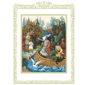 """Иллюстрация из подарочной книги """"Малахитовая шкатулка"""""""