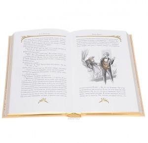 Монт-Ориоль - разворот подарочного издания с иллюстрацией