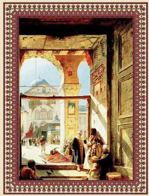 """Иллюстрация к подарочному изданию """"Мудрость Ислама"""""""