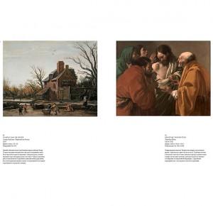 """Разворот подарочной книги """"Музеи Голландии"""""""