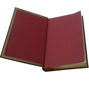 """Книга в кожаном переплете """"Огненный ангел"""""""