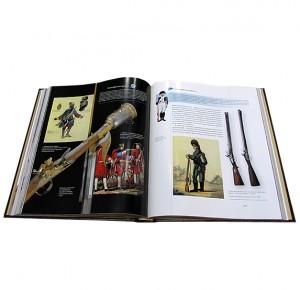 """""""Оружие мира"""" книга в кожаном переплете - иллюстрации"""