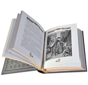 """Разворот подарочной книги """"Падение лорда Бэрримора"""""""