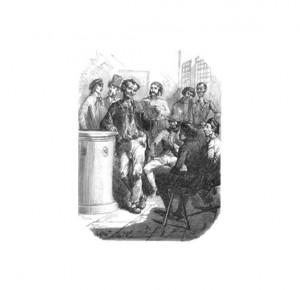 """Иллюстрация 3 к книге """"Парижские тайны"""". Роман в 2 томах"""