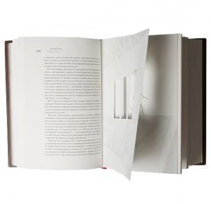 """Разворот эксклюзивной книги """"Петербург"""""""