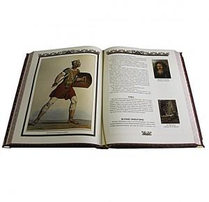 "Разворот подарочной книги с фото ""Притчи всех времен и народов"""