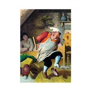 """Иллюстрация из подарочной книги """"Красная Шапочка"""""""