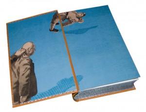 Разворот подарочной книги «Похождения бравого солдата Швейка во время мировой войны»
