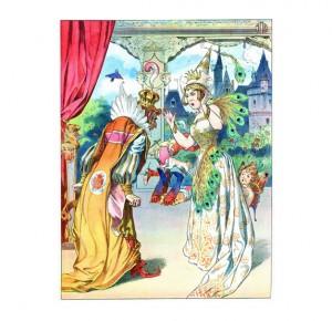 """Интересная книга для детей """"Спящая красавица"""""""