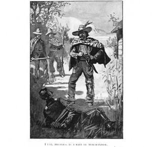 """Иллюстрация к подарочному изданию """"Стрелки в Мексике"""""""