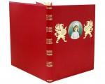 Книга в кожаном переплете Детство, воспитание и лета юности русских императоров