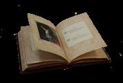 """Иллюстрации к дорогой кожаной книге """"Жизнь - ветра дуновенье..."""" Омар Хайяма"""