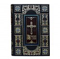 Библия с иллюстрациями русских художников в коже
