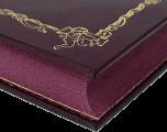 Красивый обрез кожаной книги «Озорные рассказы»