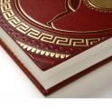 Книга в кожаном переплете
