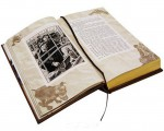 """Подарочная книга в развороте """"Возвращение Шерлока Холмса""""."""