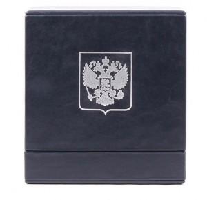 Подарочный короб кожаной книги Владимир Путин. Цитаты и афоризмы
