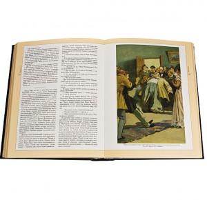 """Иллюстрация из элитной книги """"Ваш Гоголь"""" (серебро)"""