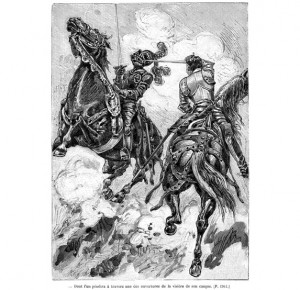 """Подарочное издание """"Сорок пять"""" Александр Дюма в 2-х томах - иллюстрация"""