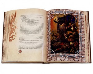 """Иллюстрации к дорогой подарочной книге """"Трудно быть богом"""""""
