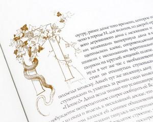 """Иллюстрации к подарочной книге """"Мертвые души"""" - фото 5"""