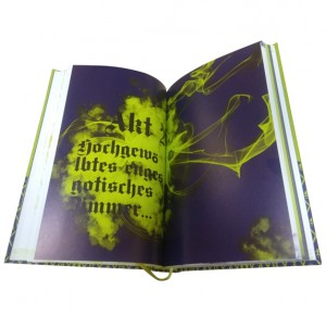 "Разворот подарочной книги ""Фауст"" Гете в двух частях - фото 13"