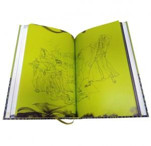 "Разворот подарочной книги ""Фауст"" Гете в двух частях - фото 10"