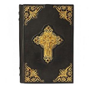 """""""Библия"""" в кожаном переплете фото 1"""